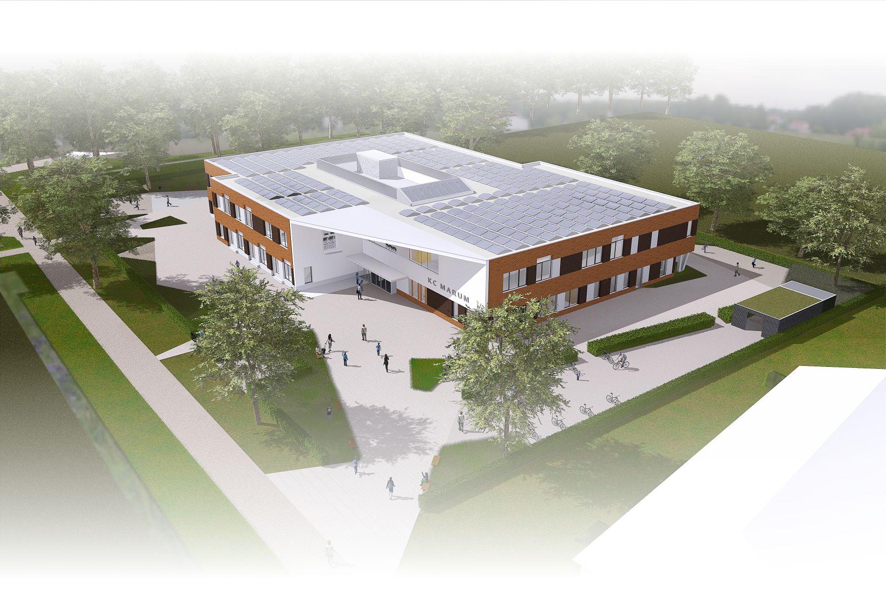 Dijkstra Draisma ontwerpt en bouwt Integraal Kindcentrum!