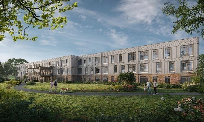 Nieuwbouw woonzorgcentrum De Hoorn gaat dit voorjaar van start!