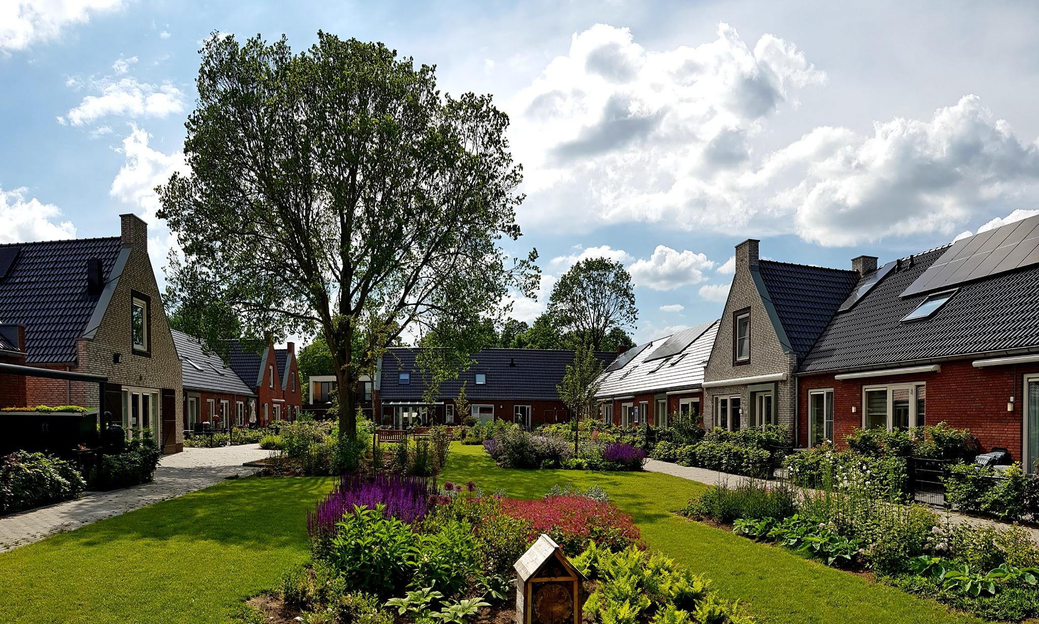 Een Knarrenhof in Marum, gemeente Westerkwartier